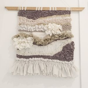 Wall Hanging in Neutral Bliss